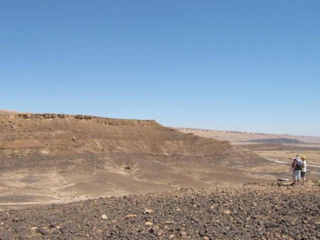 Am Ramonkrater (Wüste Negev)