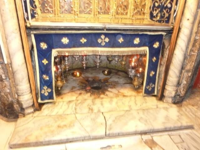 Geburtsgrotte in der Geburtskirche, Bethlehem