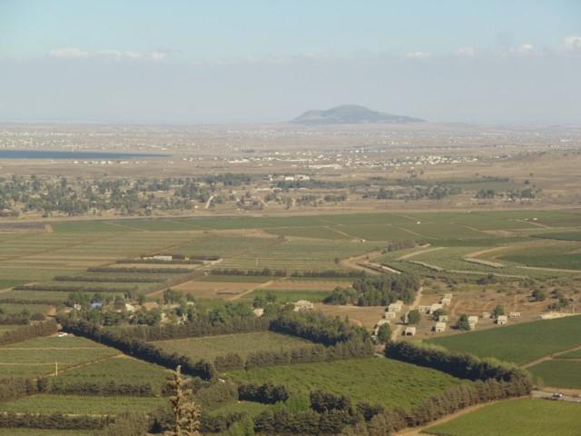 auf den Golanhöhen, Grenze zu Syrien