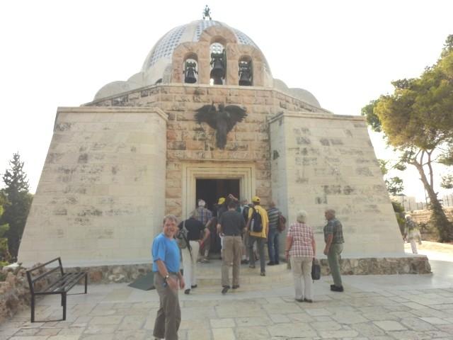 Kapelle in Beit Sahur, auf den Hirtenfeldern