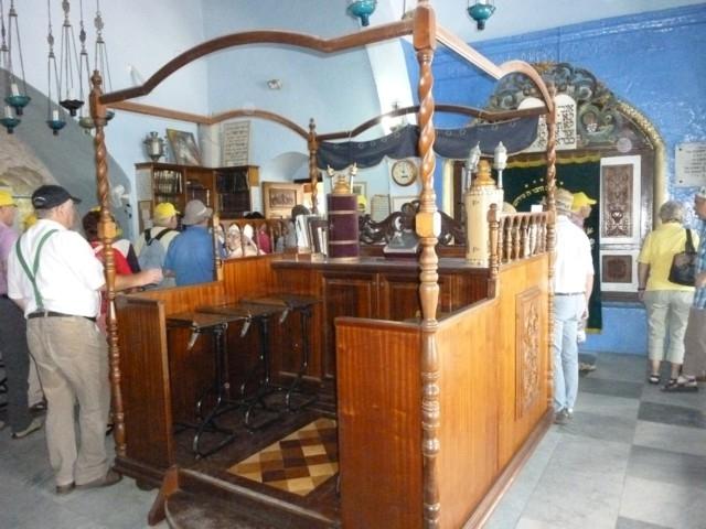 in einer Synagoge