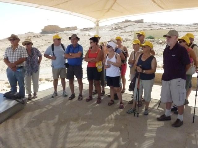 auf der Festung Masada